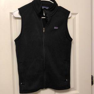 Woman's Patagonia black vest Sz Med